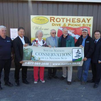 Rothesay Dive Site Opening - 2014 River Grant Recipient